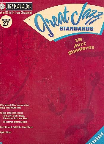 10 great Jazz Standards (+CD): Jazz Playalong vol.27