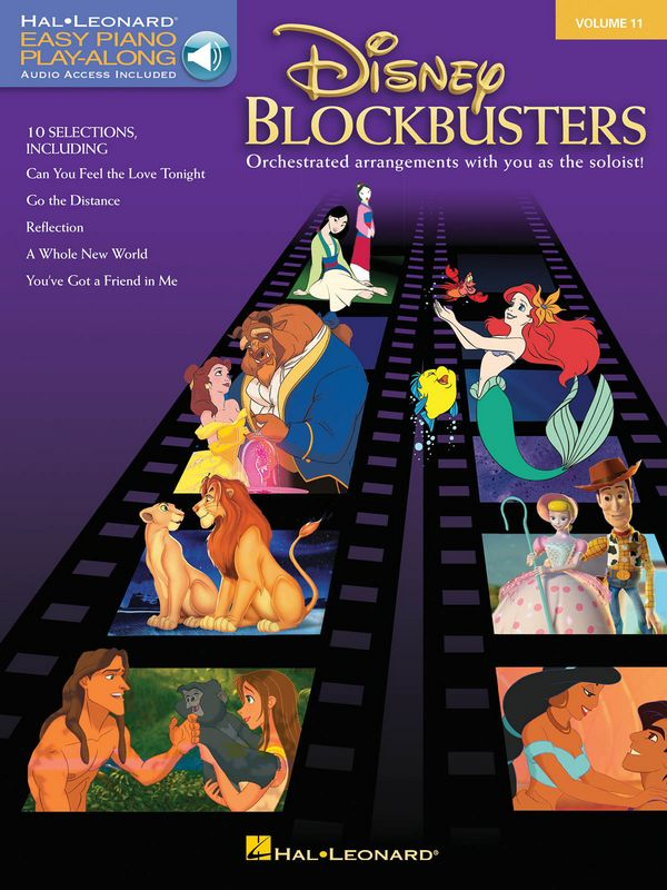 Disney Blockbuster (+Play Along Audio Access )