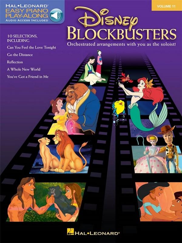 Disney Blockbuster (+Play Along Audio Access )