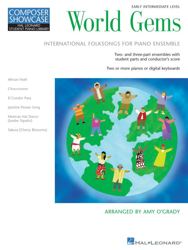 World Gems: for piano ensemble score and parts