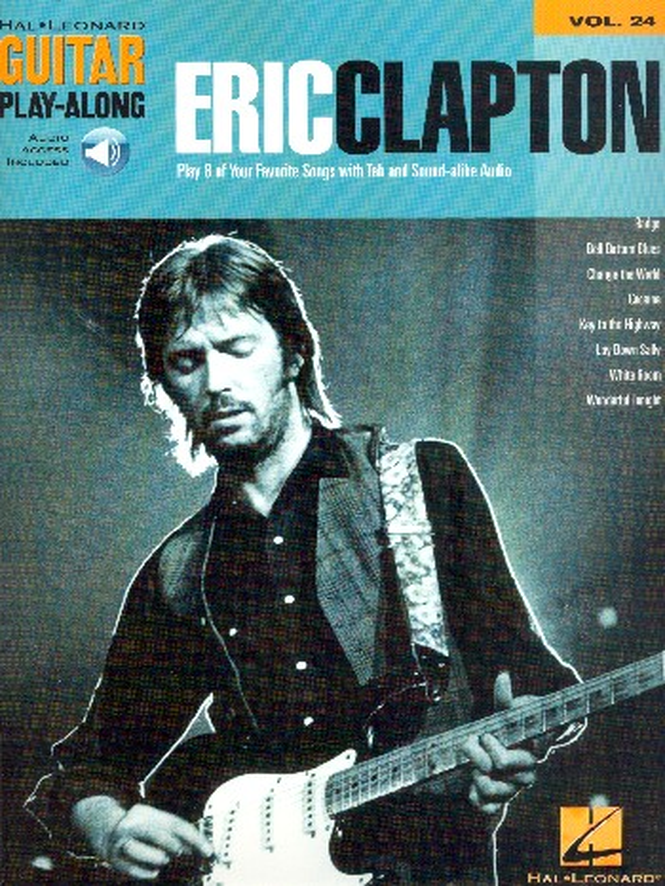 Eric Clapton (+audio access) songbook voice/guitar/tab