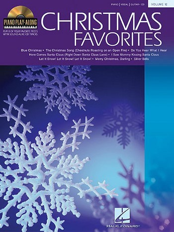 Christmas Favorites (+CD): Songbook for piano/vocal/guitar