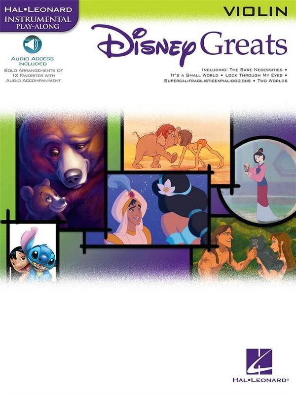 Disney Greats (+CD): for violin