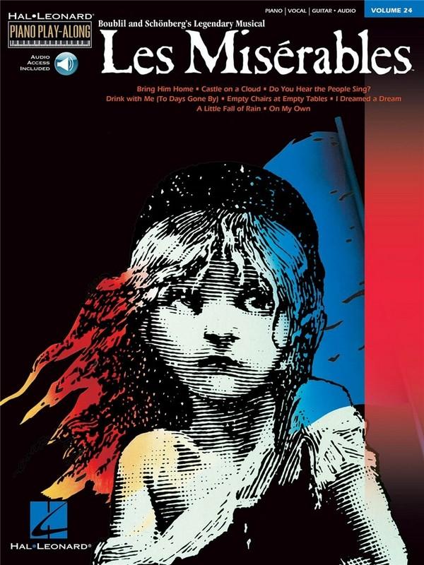 Les Miserables (+CD): Piano Play-Along