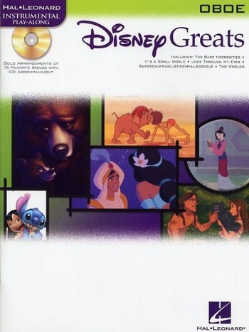 Disney Greats (+Audio Access): for oboe