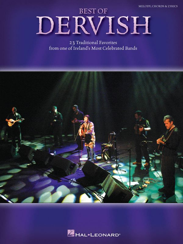 Best of Dervish: songbook with lyrics, melody line, chords