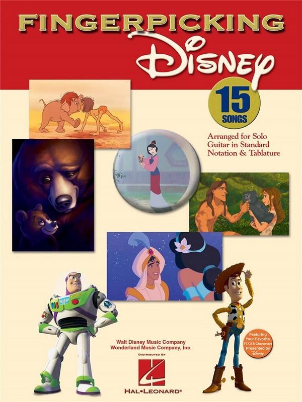 Fingerpicking Disney: 15 songs for solo guitar