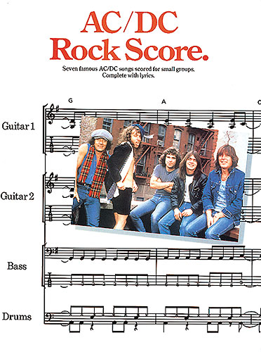 AC/DC: ROCK SCORE: SCORES FOR SMALL