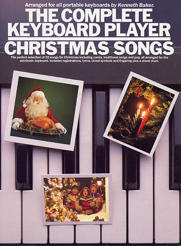 The complete keyboard player: christmas songs