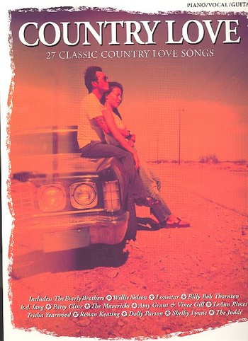 COUNTRY LOVE: SONGBOOK PIANO/VOCAL/GUITAR