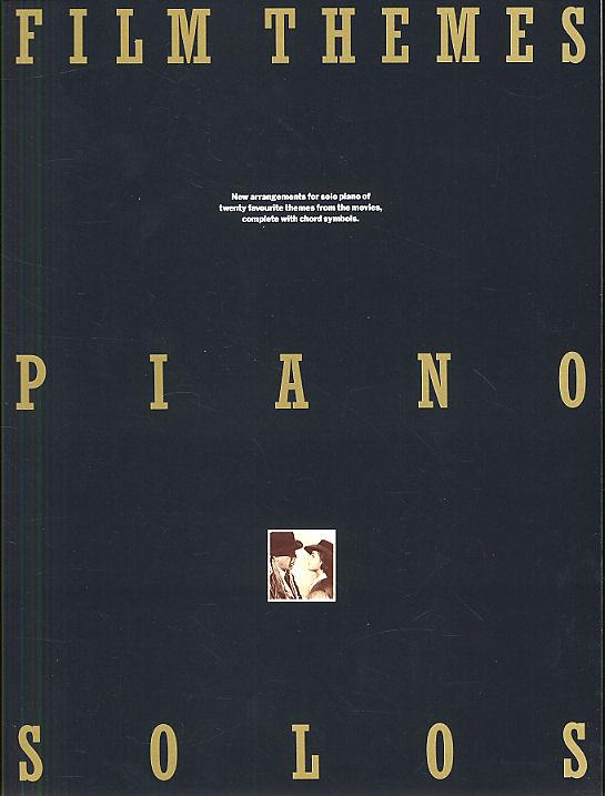 - Film Themes : for piano solo