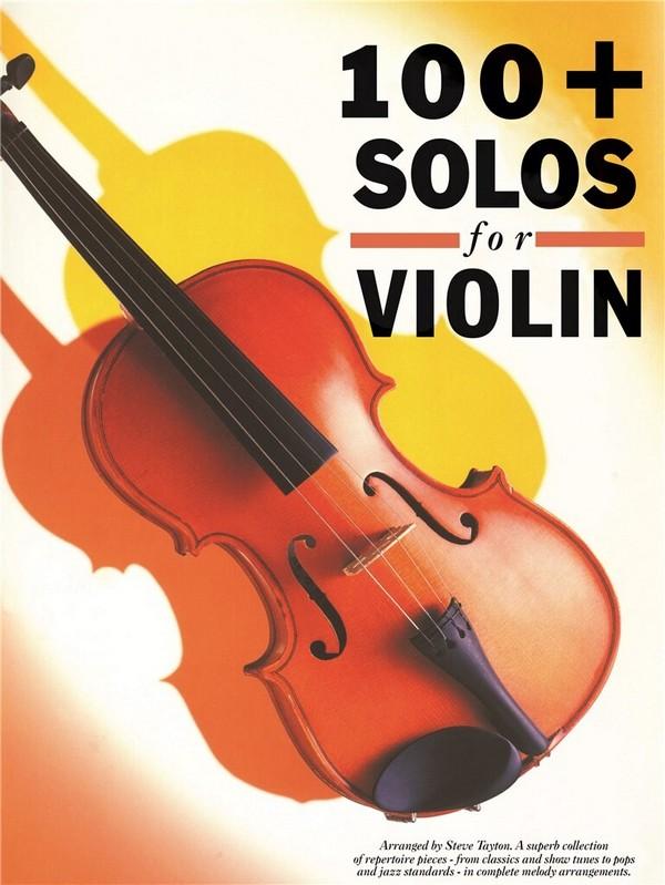 100 Plus Solo: for violin