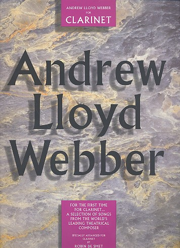 Andrew Lloyd Webber: Songbook for clarinet