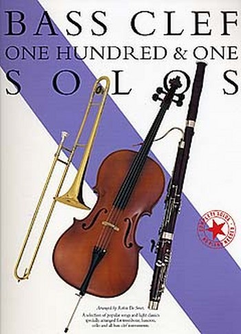101 Bass clef solos: songbook for all bass instruments