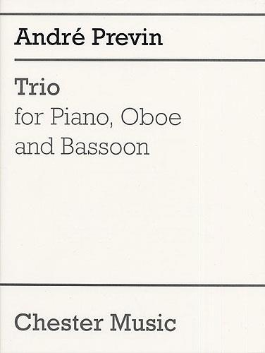 Previn, André - Trio : for piano, oboe and bassoon