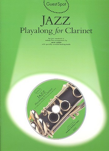 Jazz (+CD): for clarinet Guest Spot Playalong