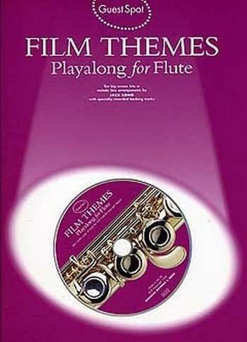 Film Themes (+CD): for flute Guest Spot Playalong