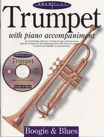 SOLO PLUS (+CD): BOOGIE AND BLUES FOR TRUMPET AND PIANO