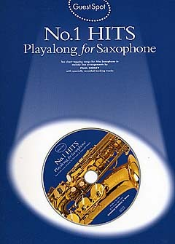 - No.1 Hits (+CD) : for alto saxophone