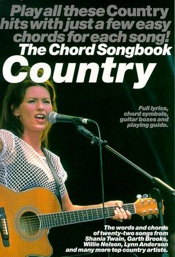 Country: the Chord Songbook book for lyrics/chord symbols/