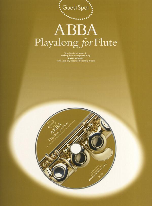 ABBA (+CD): for flute Guest Spot Playalong