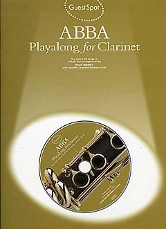 ABBA (+CD): for clarinet Guest Spot Playalong