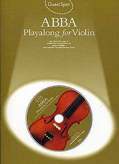 ABBA (+CD): for violin Guest spot playalong