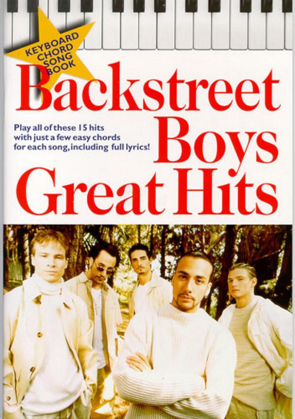 Backstreet Boys great Hits: Keyboard Chord Songbook