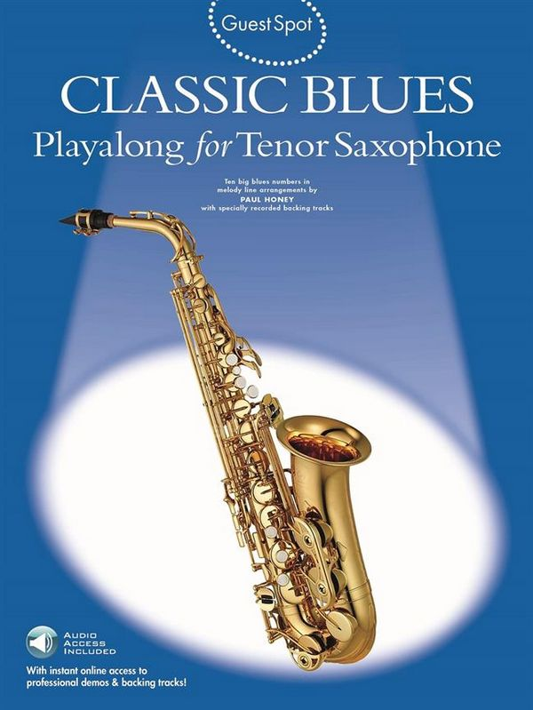 Classic Blues (+CD): for tenor saxophone