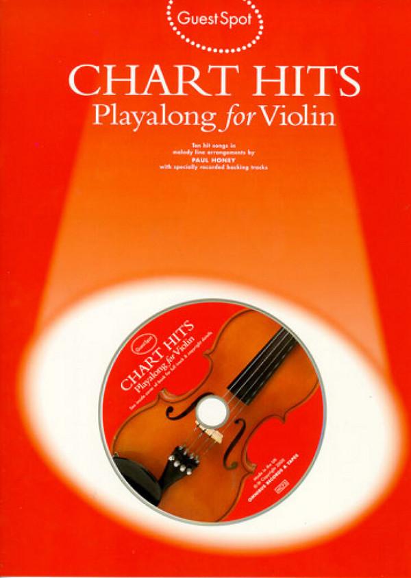 Chart Hits (+CD): for violin Guest Spot Playalong