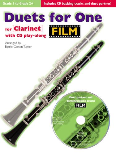 Duets for One (+Cd): film tunes for clarinet