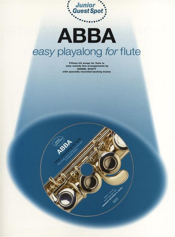 Abba (+CD): for flute junior guest spot easy playalong