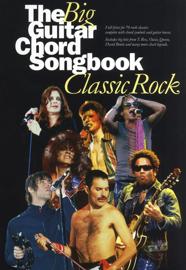 - The big Guitar Chord Songbook :