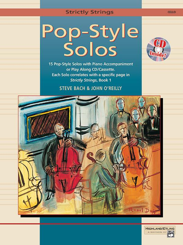 Pop-Style Solos (+CD): for cello (piano accompaniment available)