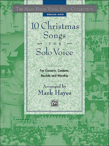 10 Christmas Songs vol.2: for medium high voice and piano