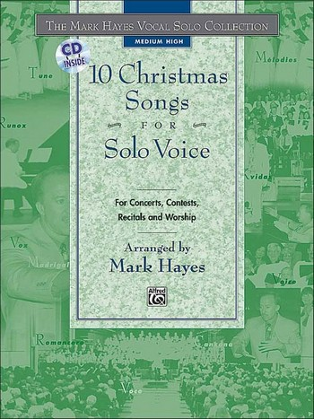 10 Christmas Songs vol.2 (+CD): for medium high voice and piano