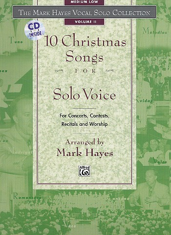 10 Christmas Songs vol.2 (+CD): for medium low voice and piano