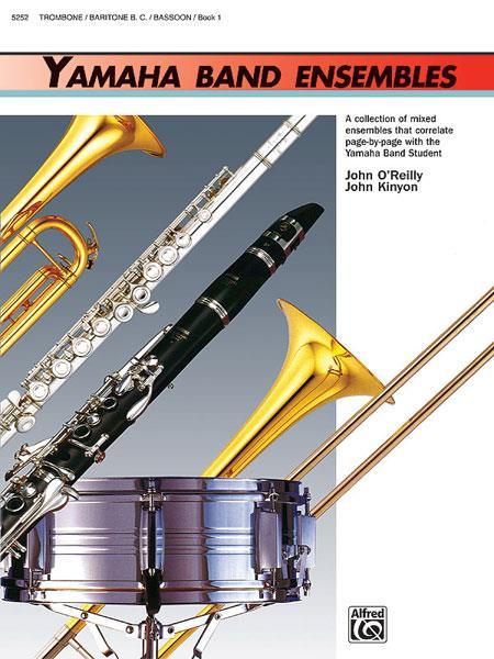 Yamaha Band Ensembles vol.1: Trombone / baritone bass clef