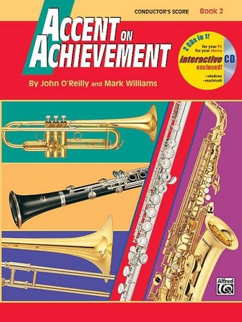 Accent on Achievement. vol.2 (+CD-ROM): for wind ensemble