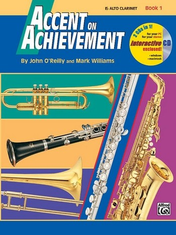 Accent on Achievement vol.1 (+CD-ROM): for concert band (en)