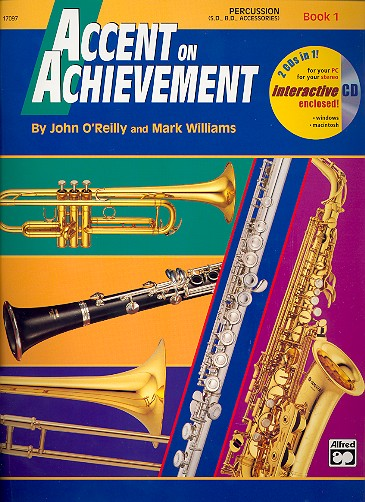 Accent on Achievement vol.1 (+CD-ROM): for band (en/dt.)