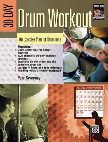 30-day drum workout: warm-ups, stickings
