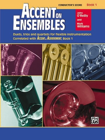 Accent on Ensembles vol.1: for 2-4 wind instruments (band)