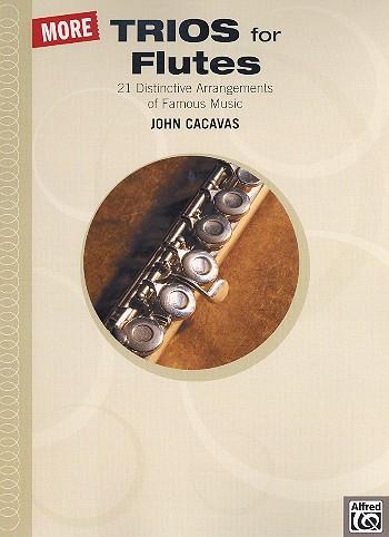 - More Trios for Flutes :