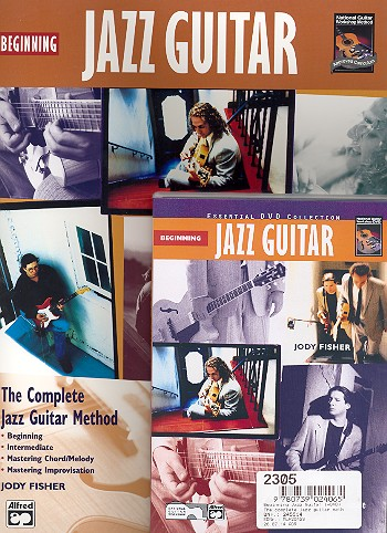 Beginning Jazz Guitar (+DVD): The complete jazz guitar method