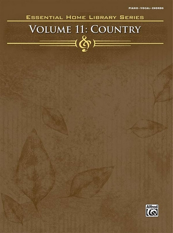 Essential Home Library vol.11: Country songbook piano/vocal/guitar