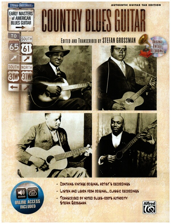 Country Blues Guitar (+CD): for guitar/tab