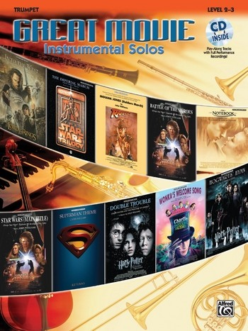 Great Movie Instrumental Solos (+CD): for trumpet