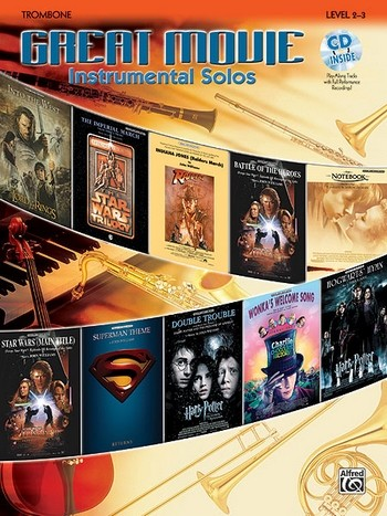 Great Movie Instrumental Solos (+CD): for trombone