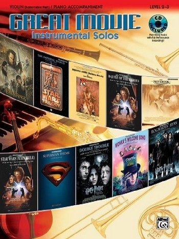 Great Movie Instrumental Solos (+CD): for violin and piano